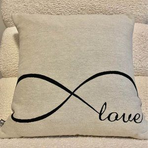 """Eternity """"LOVE"""" Accent Pillow"""